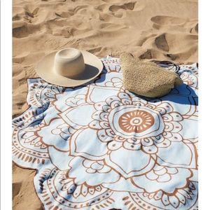 Other - Lotus beach towel